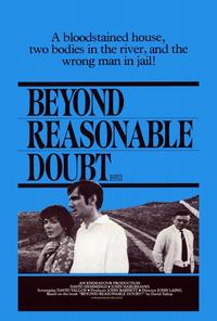 Beyond Reasonable Doubt - 27 x 40 Movie Poster - Style B