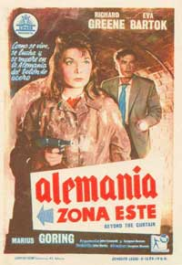 Beyond the Curtain - 11 x 17 Movie Poster - Spanish Style A