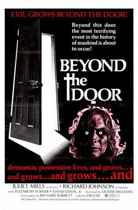 Beyond the Door - 11 x 17 Movie Poster - Style A