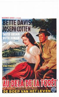 Beyond the Forest - 11 x 17 Movie Poster - Belgian Style A
