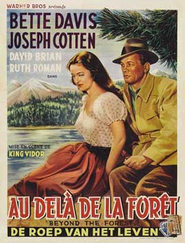 Beyond the Forest - 11 x 17 Movie Poster - French Style A