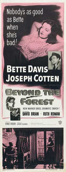 Beyond the Forest - 14 x 36 Movie Poster - Insert Style A
