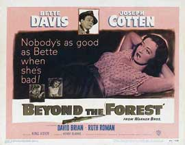 Beyond the Forest - 11 x 14 Movie Poster - Style A