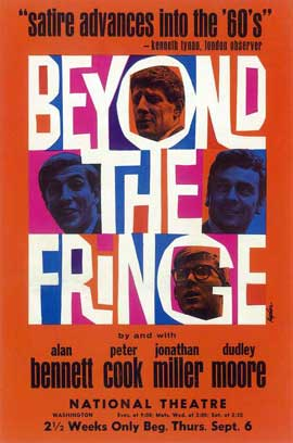 Beyond the Fringe (Broadway) - 11 x 17 Poster - Style A