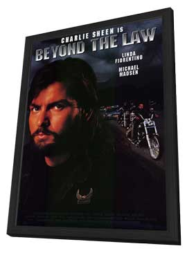 Beyond the Law - 11 x 17 Movie Poster - Style A - in Deluxe Wood Frame