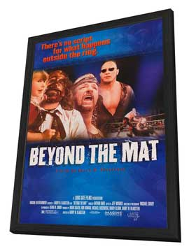 Beyond the Mat - 27 x 40 Movie Poster - Style A - in Deluxe Wood Frame