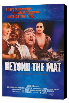 Beyond the Mat - 27 x 40 Movie Poster - Style A - Museum Wrapped Canvas