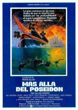 Beyond the Poseidon Adventure - 27 x 40 Movie Poster - Spanish Style B