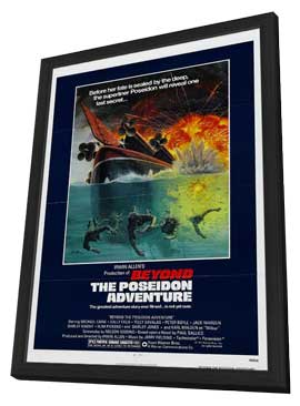 Beyond the Poseidon Adventure - 11 x 17 Movie Poster - Style A - in Deluxe Wood Frame