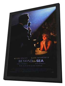 Beyond the Sea - 27 x 40 Movie Poster - Style A - in Deluxe Wood Frame