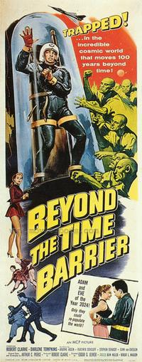 Beyond the Time Barrier - 43 x 62 Movie Poster - Bus Shelter Style A