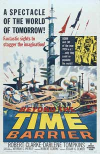 Beyond the Time Barrier - 43 x 62 Movie Poster - Bus Shelter Style B