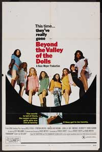 Beyond the Valley of the Dolls - 43 x 62 Movie Poster - Bus Shelter Style A