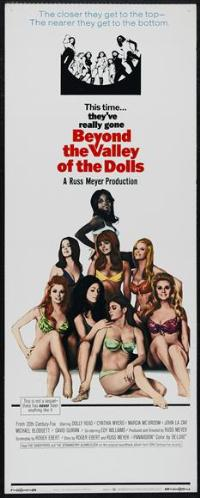 Beyond the Valley of the Dolls - 14 x 36 Movie Poster - Insert Style A