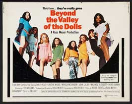 Beyond the Valley of the Dolls - 22 x 28 Movie Poster - Half Sheet Style A