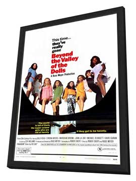 Beyond the Valley of the Dolls - 27 x 40 Movie Poster - Style A - in Deluxe Wood Frame