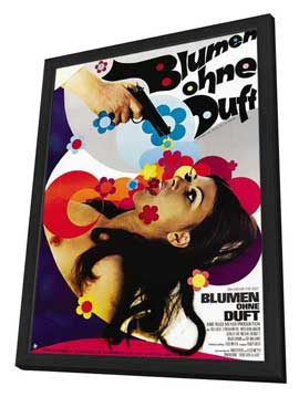 Beyond the Valley of the Dolls - 27 x 40 Movie Poster - German Style A - in Deluxe Wood Frame