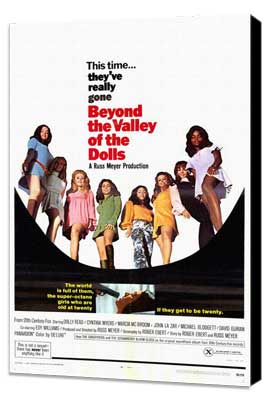 Beyond the Valley of the Dolls - 27 x 40 Movie Poster - Style A - Museum Wrapped Canvas