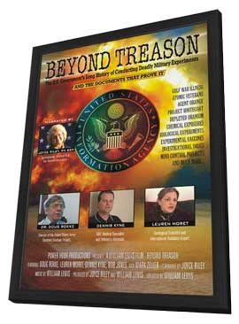 Beyond Treason - 11 x 17 Movie Poster - Style A - in Deluxe Wood Frame