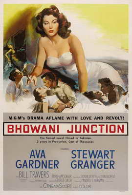 Bhowani Junction - 11 x 17 Movie Poster - Style A