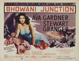 Bhowani Junction - 11 x 17 Movie Poster - Style B