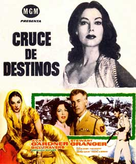 Bhowani Junction - 11 x 17 Movie Poster - Spanish Style A
