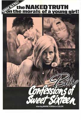 Bibi Confession of a Sweet 16 - 11 x 17 Movie Poster - Style A