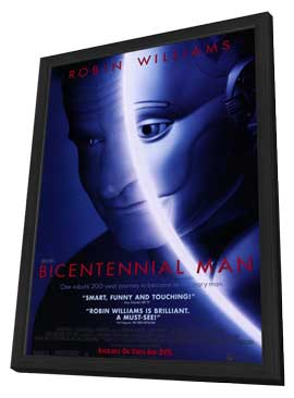 Bicentennial Man - 27 x 40 Movie Poster - Style A - in Deluxe Wood Frame