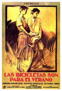 Bicycles Are for the Summer - 11 x 17 Movie Poster - Spanish Style A
