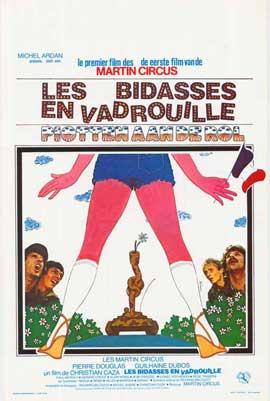 Bidasses en vadrouille, Les - 11 x 17 Movie Poster - Belgian Style A