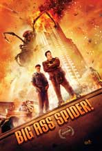 """Big Ass Spider!"" Movie Poster"