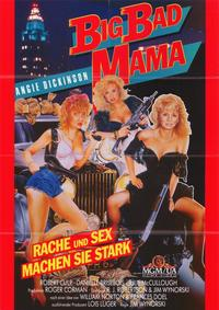 Big Bad Mama - 11 x 17 Movie Poster - German Style A