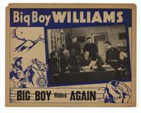 Big Boy Rides Again - 11 x 14 Movie Poster - Style B