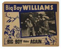 Big Boy Rides Again - 11 x 14 Movie Poster - Style C