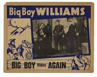 Big Boy Rides Again - 11 x 14 Movie Poster - Style D