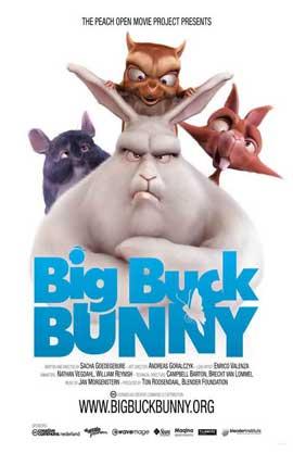 Big Buck Bunny - 11 x 17 Movie Poster - Style B