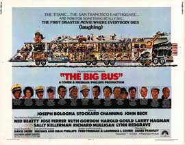 The Big Bus - 11 x 14 Movie Poster - Style A