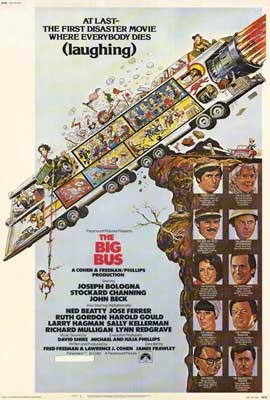 The Big Bus - 27 x 40 Movie Poster - Style A