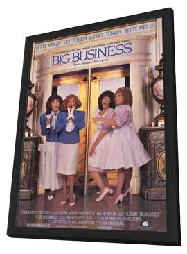 Big Business - 11 x 17 Movie Poster - Style A - in Deluxe Wood Frame