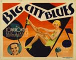 Big City Blues - 22 x 28 Movie Poster - Style A
