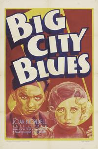 Big City Blues - 27 x 40 Movie Poster - Style A