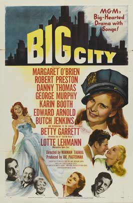Big City - 27 x 40 Movie Poster - Style A