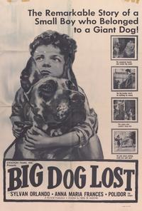 Big Dog Lost - 27 x 40 Movie Poster - Style A