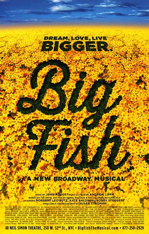 Big Fish (Broadway) Movie Posters From Movie Poster Shop