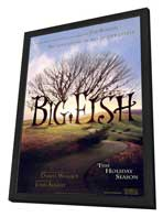 Big Fish - 11 x 17 Movie Poster - Style A - in Deluxe Wood Frame