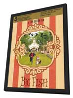 Big Fish - 27 x 40 Movie Poster - Style B - in Deluxe Wood Frame