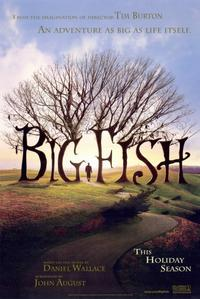 Big Fish - 11 x 17 Movie Poster - Style A - Museum Wrapped Canvas