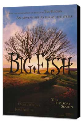 Big Fish - 27 x 40 Movie Poster - Style A - Museum Wrapped Canvas