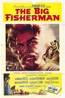 Big Fisherman - 11 x 17 Movie Poster - Style A