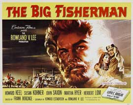 Big Fisherman - 22 x 28 Movie Poster - Style A